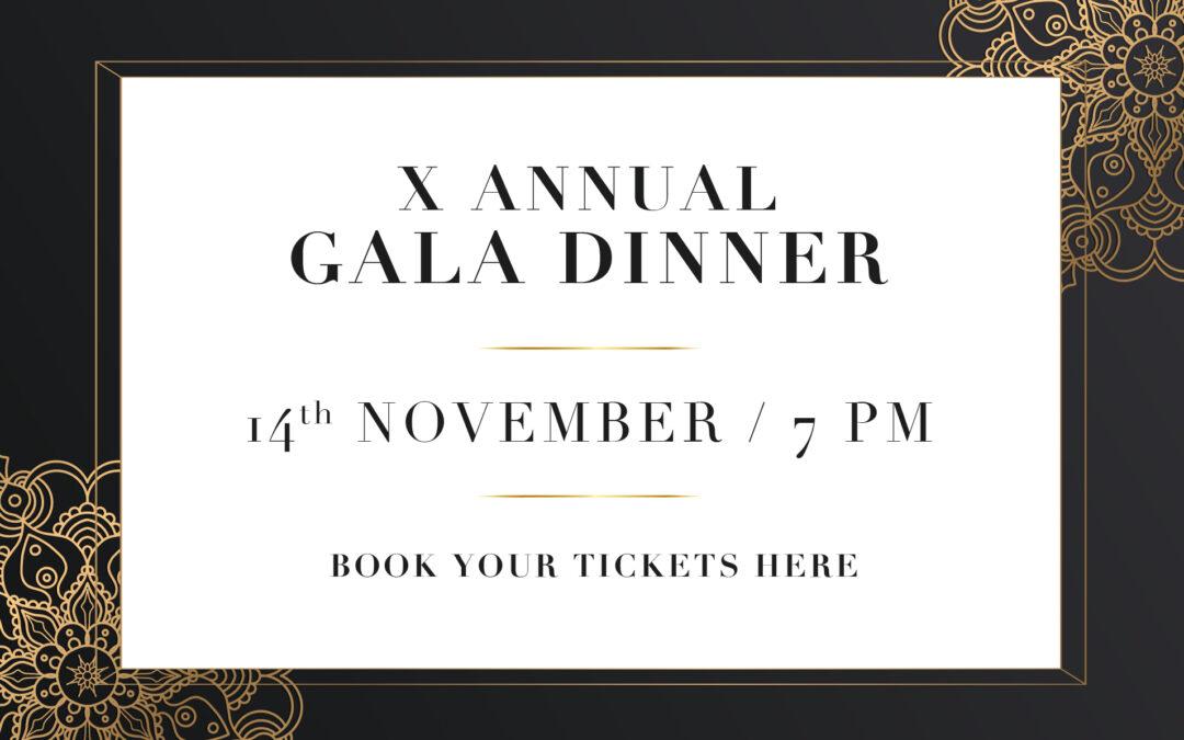 X Gala Dinner