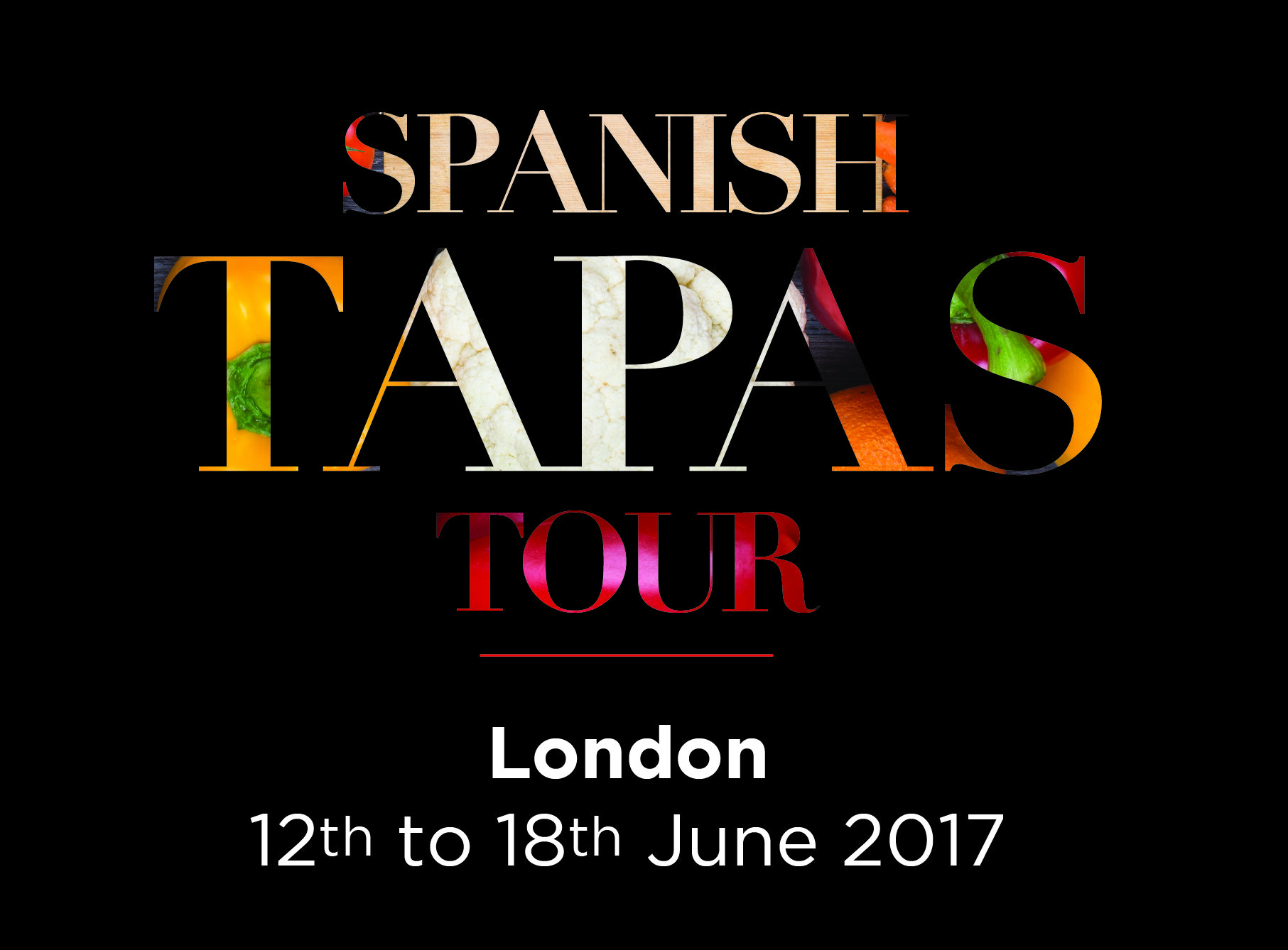 Spanish Tapas Tour 2017