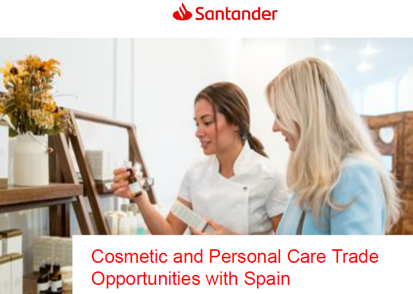WEBINAR | Cosmetic and Personal Care Trade Opportunities with Spain