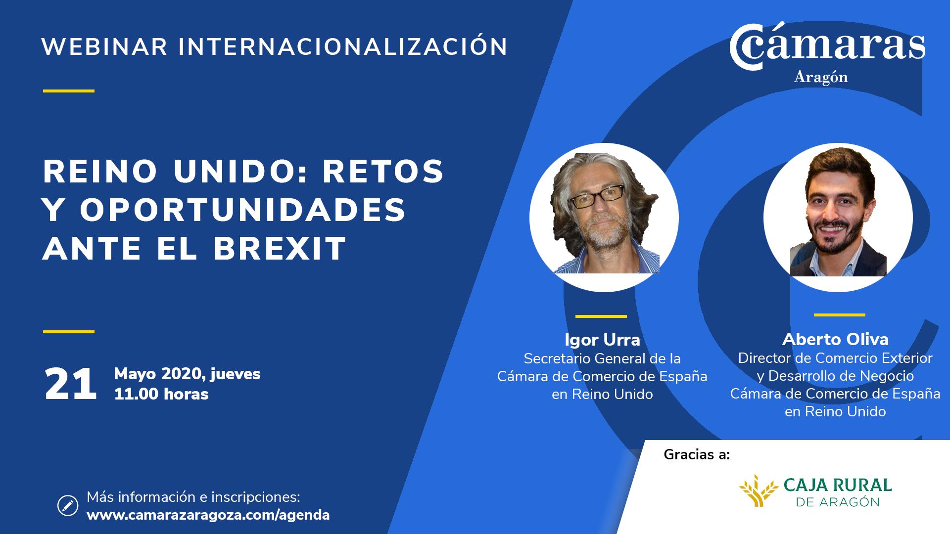 JORNADA PAÍS ZARAGOZA | Reino Unido: retos y oportunidades ante el Brexit