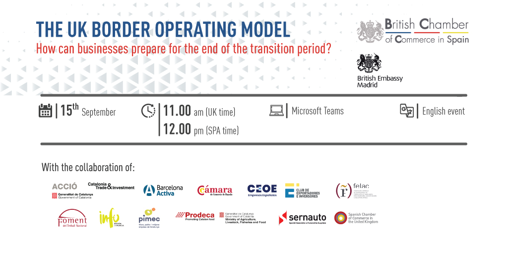 WEBINAR | THE UK BORDER OPERATING MODEL