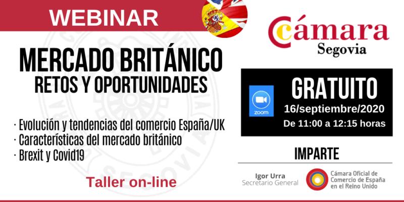 JORNADA PAÍS SEGOVIA | Mercado Británico: retos y oportunidades