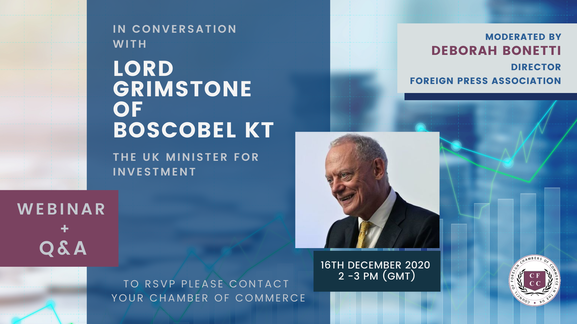 In conversation with the UK Minister for Investment Lord Grimstone of Boscobel Kt