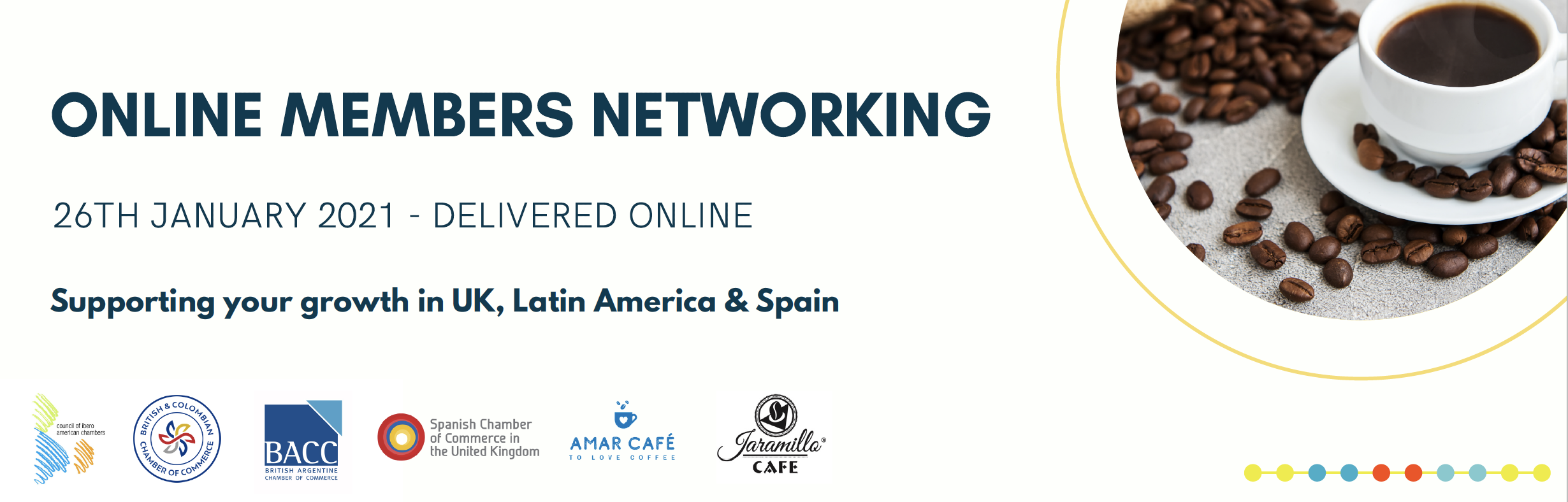 Council of Ibero American Chambers Online Mixer | January edition