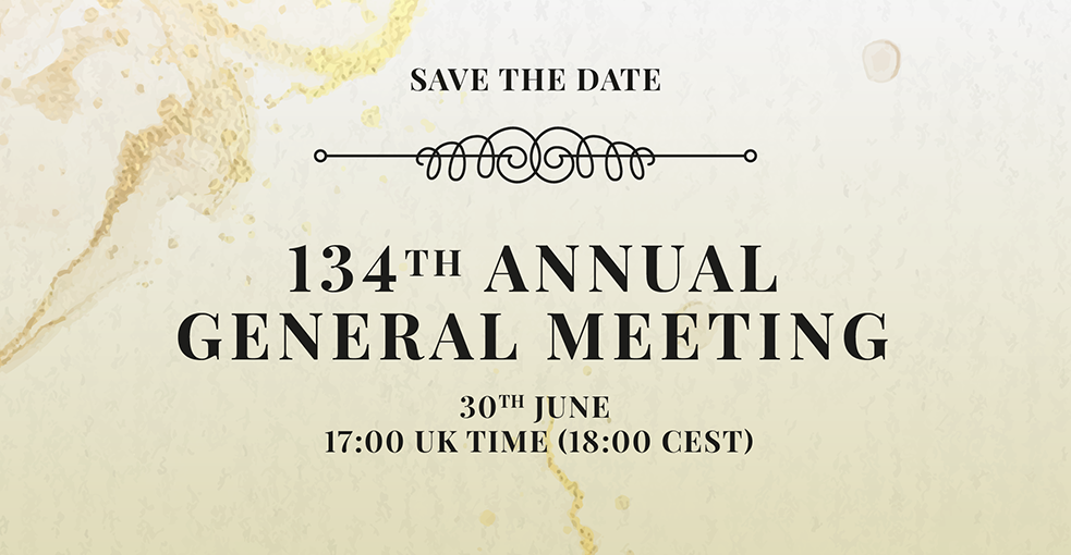 134th Annual General Meeting