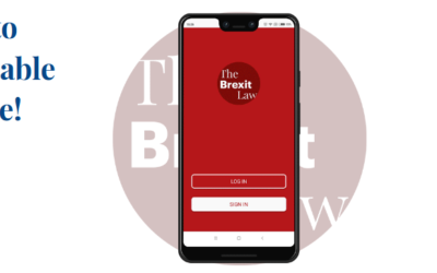 NEW BLOG POST | THE BREXIT LAW APP: ALL YOU WANT TO KNOW, IS AVAILABLE ON YOUR PHONE!