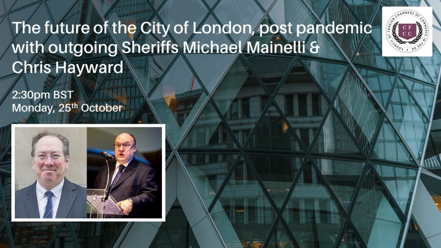 WEBINAR | The Future of the City of London, Post Pandemic